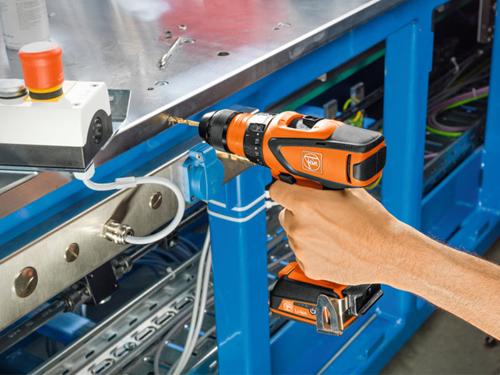 4-speed cordless drill/driver  Fein ASCM 12 QC
