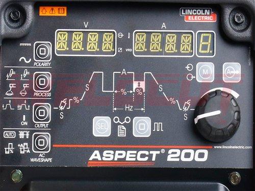 Inverter welder TIG AC/DC Lincoln Electric Aspect 200