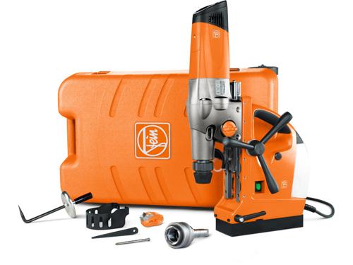 Metal core drilling unit Fein KBM 65 U