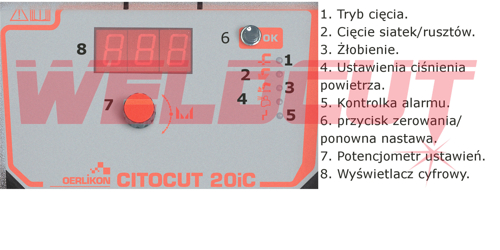Plasma cutter Oerlikon CITOCUT 20i