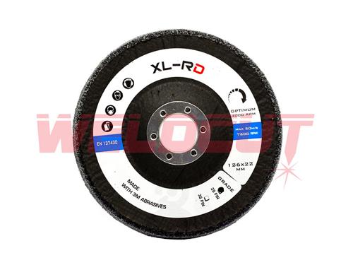Scotch-brite disc 3M XL-RD 2S FIN 125mm x 12mm