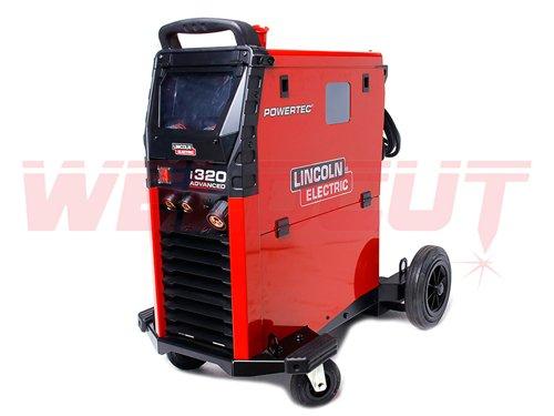 Semi-automatic welding machine Lincoln Electric Powertec i320C Advanced
