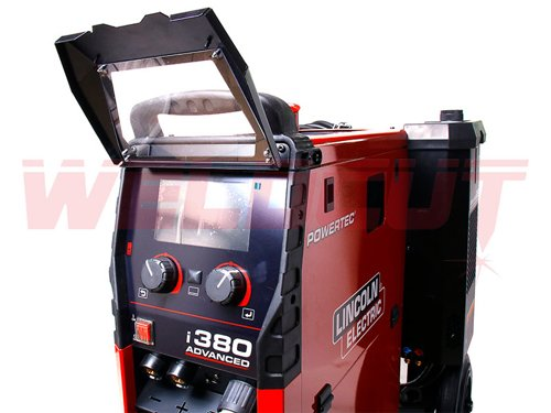 Semi-automatic welding machine Lincoln Electric Powertec i380C Advanced + Cooler COOL ARC®26