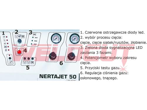 Przecinarka plazmowa Oerlikon NERTAJET 50